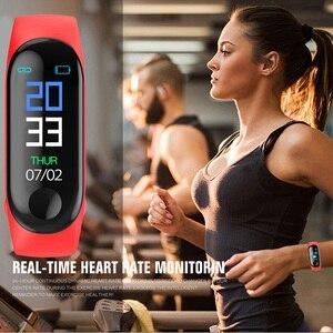 Image 5 - SHAOLIN – Bracelet connecté, moniteur de fréquence cardiaque continue, écran tactile, moniteur dactivité physique, TPE