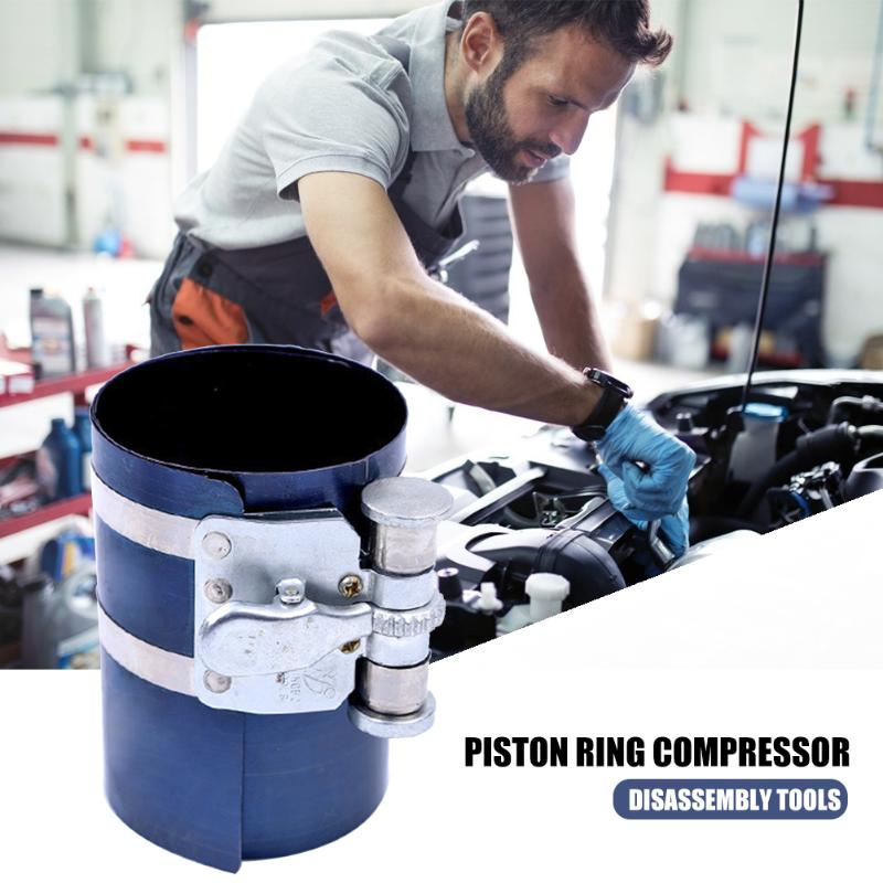 3/6 Inch Piston Ring Spring Compressor Corrosion Resistance Engine Repairing Assembly Wrench Pliers Disassembly Tools