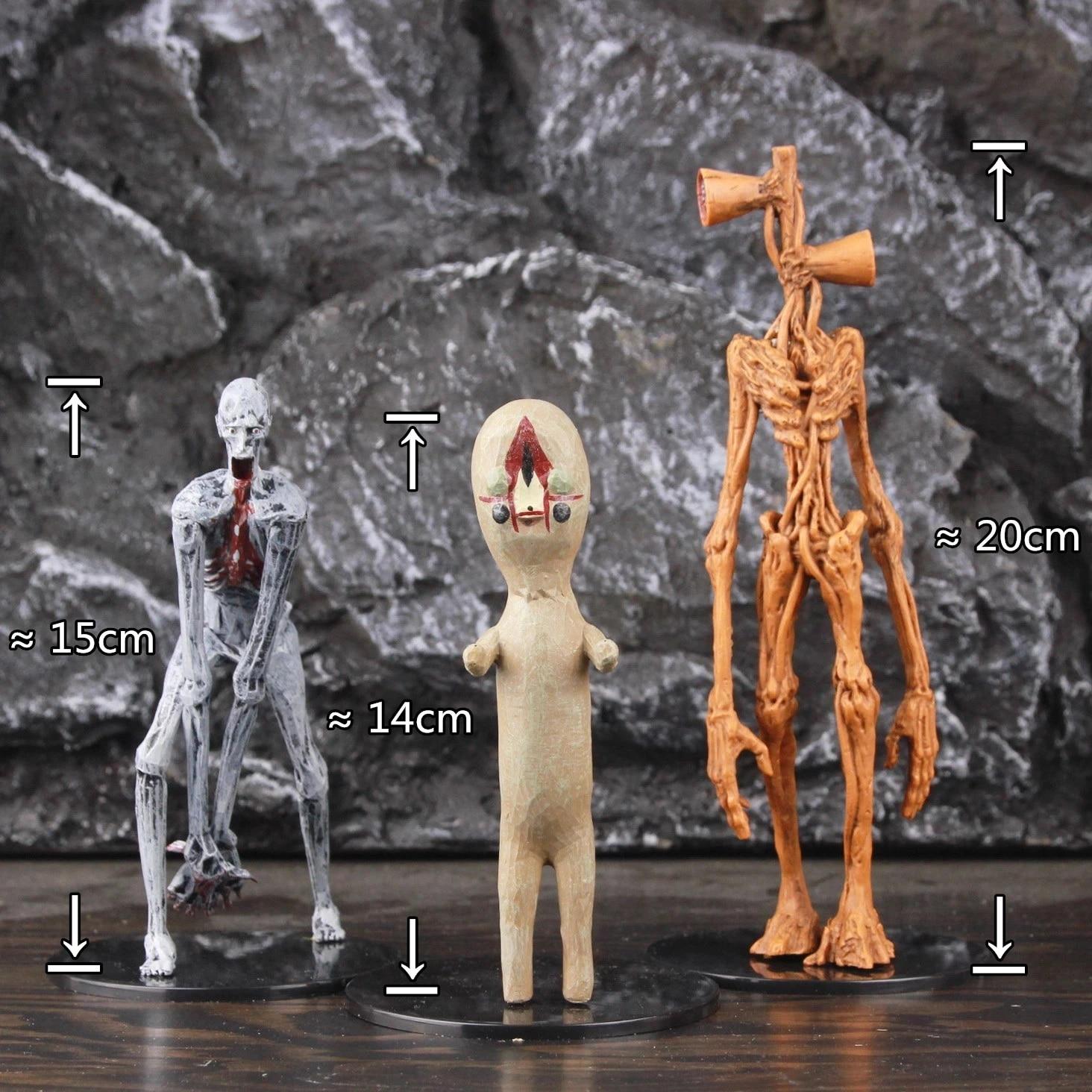 Anime Scp 6789 173 096 Siren Head The Original Sculpture Shy Guy Figurine Horror Urban Legend Foundation Action Figure Doll Toys Action Figures Aliexpress