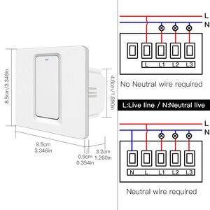 Image 5 - Wifi Zigbee Smart Drukknop Geen Neutrale Vereist Smart Leven Tuya App Alexa Google Thuis Voice Control 2/3 Way eu Uk Nieuwe