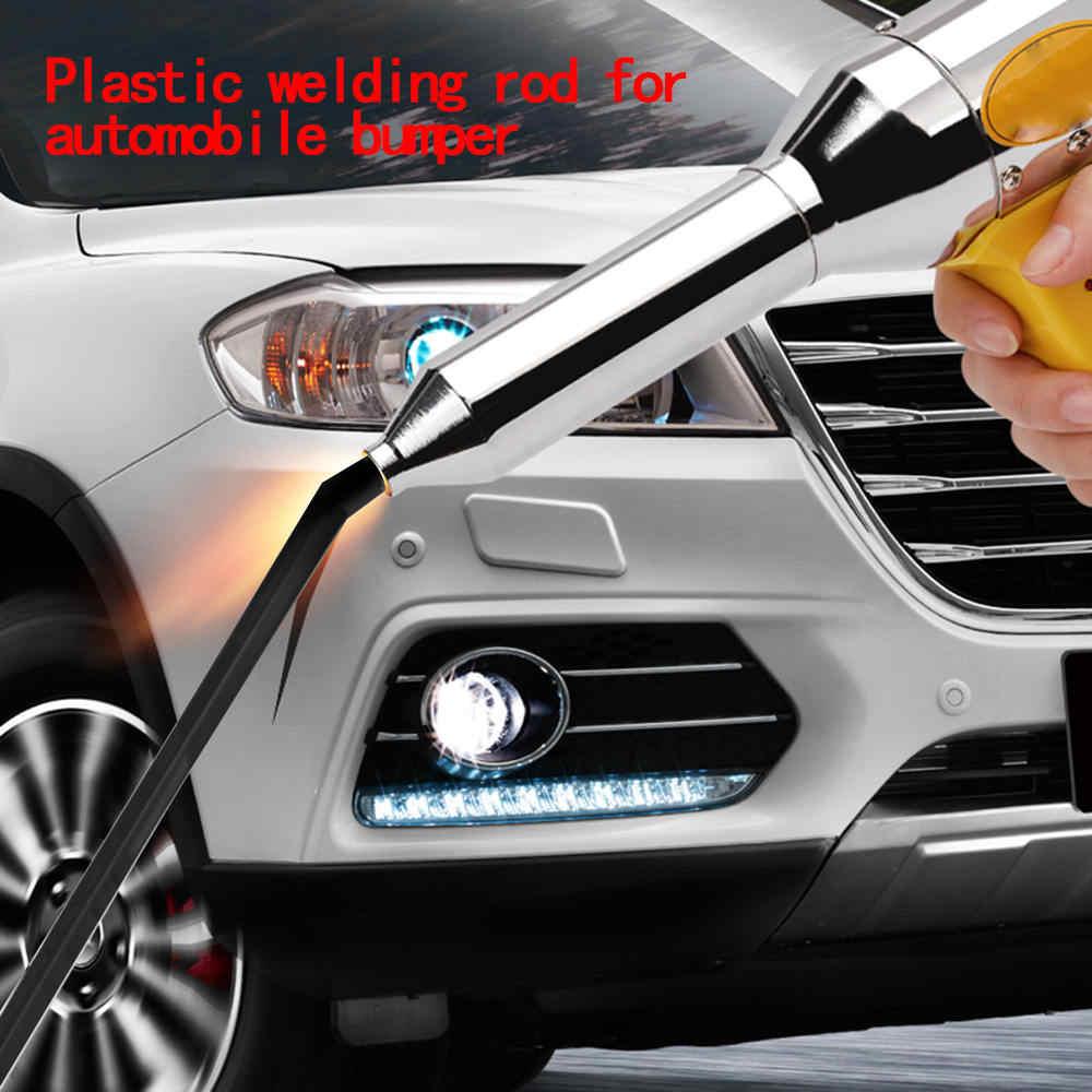 50pcs 2.5mm *5mm Plastic Welder Hot Gun Soldering Welding Rods Bumper Repair Car Tool Kit