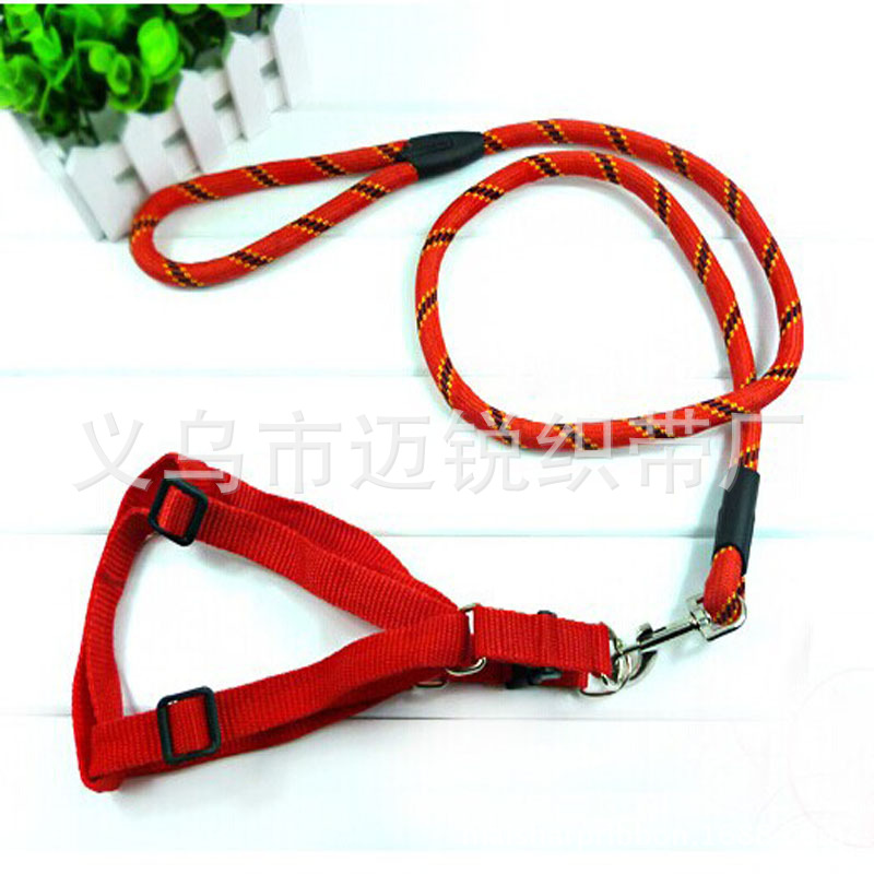 Pet Supplies Fine Lines Round Rope Xiong Bei Tao Traction Handle Dog Hand Holding Rope