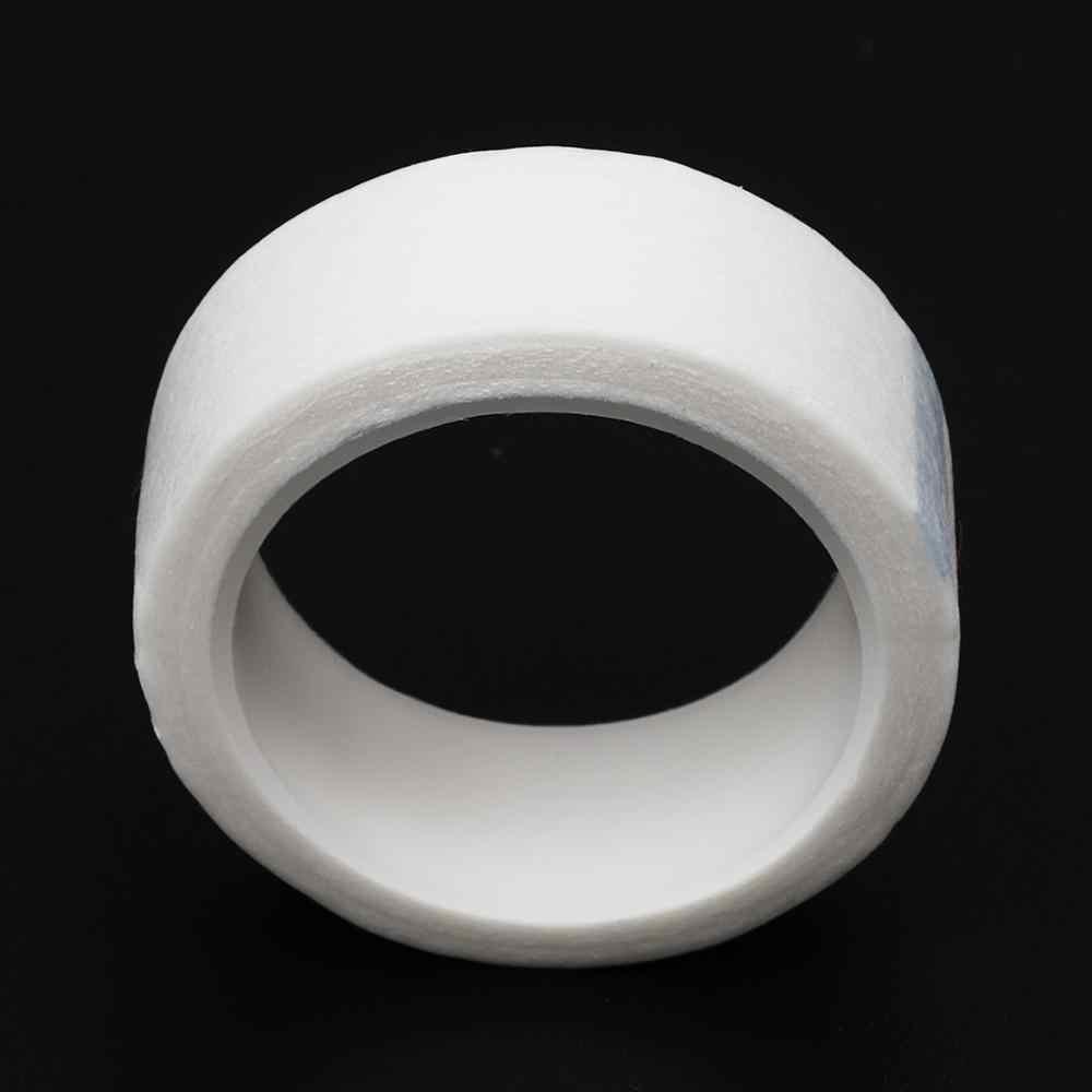 5 uds. Extensión de pestañas pelusa transpirable tela no tejida cinta adhesiva papel médico cinta para pestañas falsas parche herramientas de maquillaje