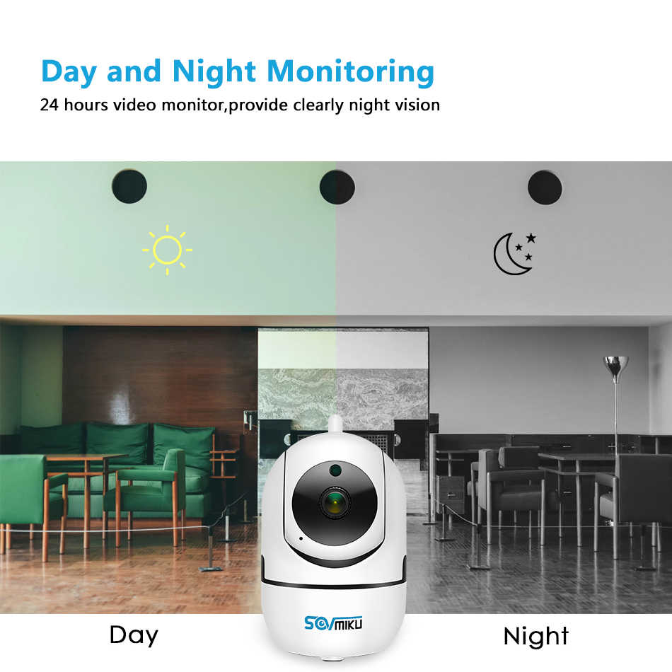 Hd 1080P Cloud Wireless Ip Camera Intelligent Auto Tracking Van Menselijk Home Security Surveillance Cctv Netwerk Wifi Camera