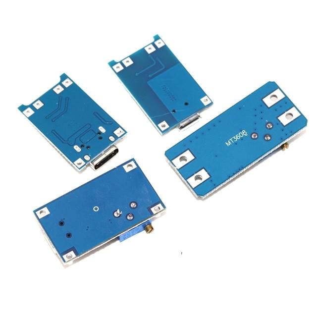 защитная интегрированная плата tp4056 18650 для зарядки литиевой фотография