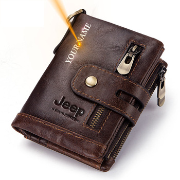 Free Engraving 100% Genuine Leather