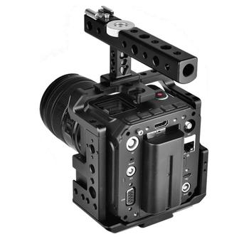 Camera Cage and Top Handle Kit Aluminium Alloy Stabilizers for Z CAM E2 Camera Accessories