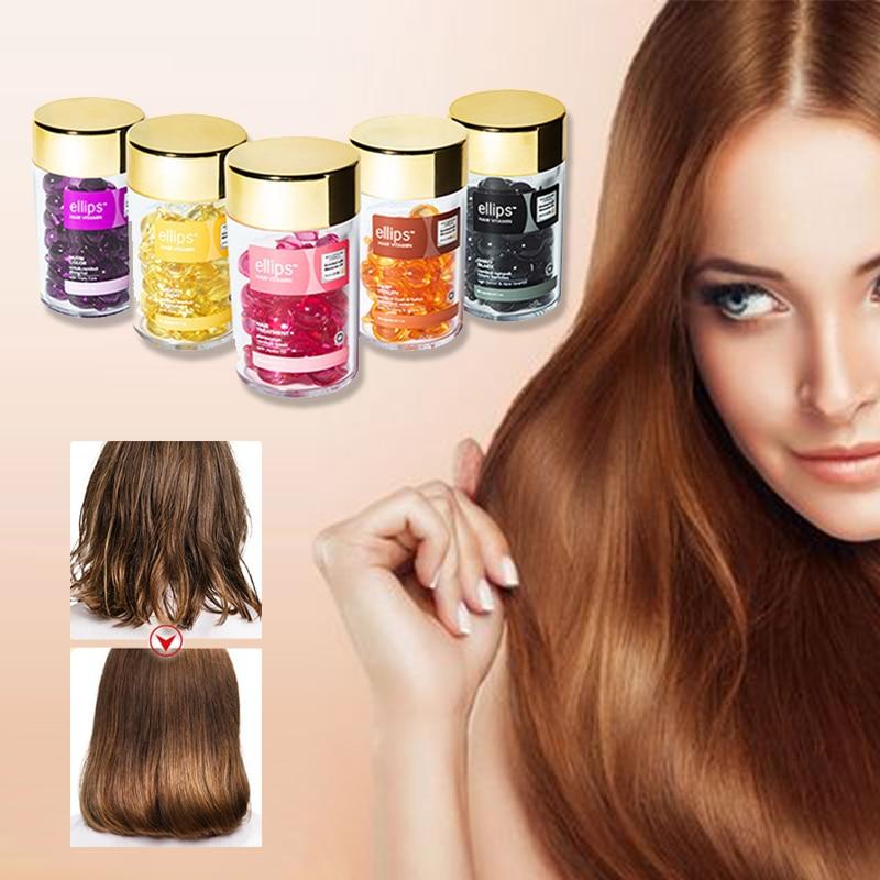 Hair Vitamin Capsule Keratin Treatment Smooth Silky Moroccan Oil Hair Care Repair Serum Mask Products For Damaged Hair Anti Loss 1