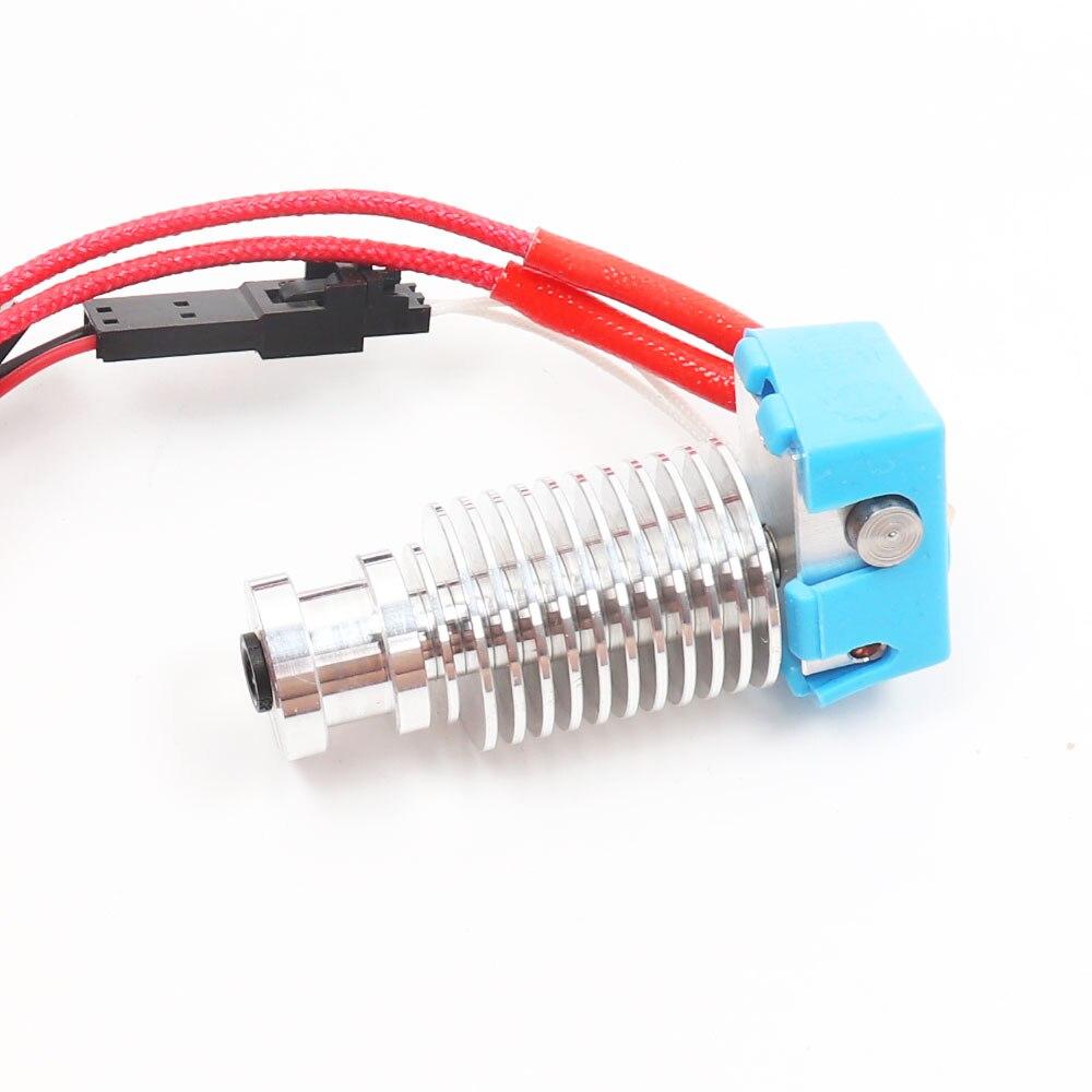 BLV MGN Cubo 3d impressora E3D V6 pré-montados kit para com 1.2M de comprimento 24V40W cartucho hotend 0.4 milímetros termistor blv bico final quente
