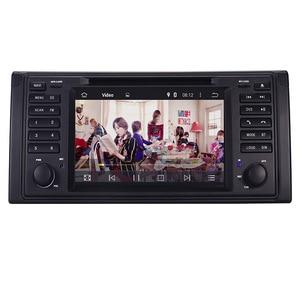 Image 3 - الأصلي UI 1 الدين مشغل أسطوانات للسيارة لاعب لسيارات BMW X5 E39 GPS بلوتوث راديو USB SD عجلة القيادة التحكم خريطة الكاميرا