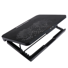 Laptop-Stand-Support Cooling with 2-Fans for The 1pc 12--To-17-Adjustable