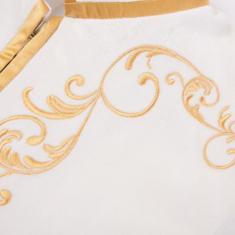 britânico, palácio, preto, dourado, bordado, para casamento, slim fit