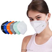 3D ochronny składany kolor czarny KN95 różowy KN95 niebieski KN95 maska przeciwmgielna i przeciwpyłowa tanie tanio OLOEY Chin kontynentalnych Ochrona przed kurzem FFP2 Jednorazowego użytku Dla dorosłych Maski