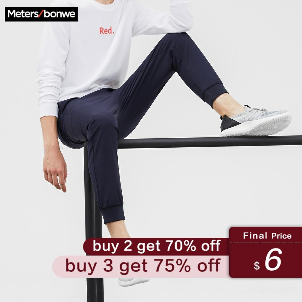 Metersbonwe Men Sports Pants New Autumn Casual Trousers Straight Chinos Fashion Jogging Pants Male Brand Trousers High Quality