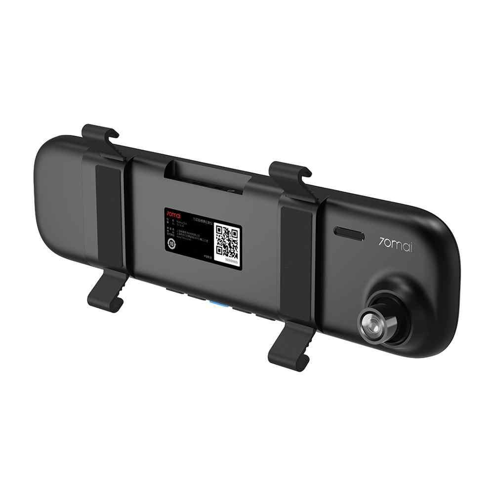 Cámara de salpicadero de espejo retrovisor de 70maia Wifi 1600P HD 70 maidcam de visión trasera del coche DVR cámara de vídeo g-sensor 24H Monitor de estacionamiento
