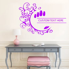 Funny Custom text here Decal Removable Vinyl Mural Poster For Living Room Bedroom Sticker