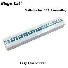 2500 pc/Lot OCA polariseur verre facile déchirer autocollants pour iPhone pour Samsung tout ruban autocollants déchirer OCA enlever LCD rénovation