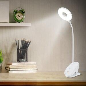 Image 3 - Gorący bubel lampa stołowa na biurko, z wejściem usb lampa Led studium czytanie jasne światło pulpit LED lampa do czytania i pracy domowej dzieci