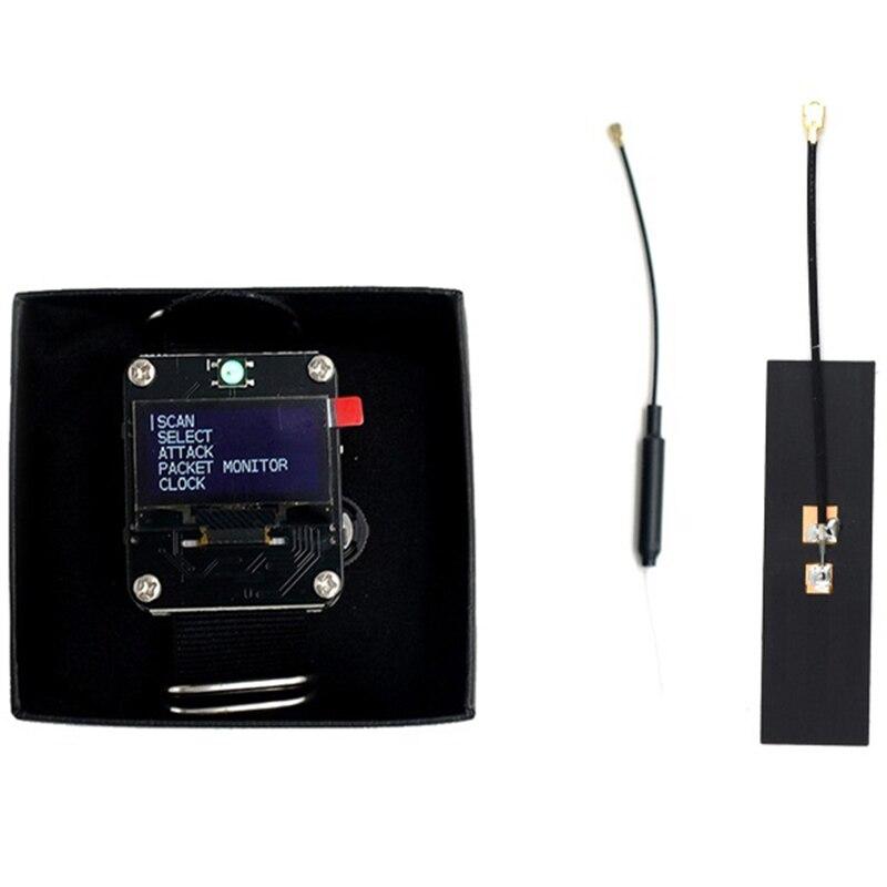 FFYY-Wifi For Deauther Wristband Wearable Esp8266 Development Board Smart Watch For Devkit Arduino Nodemcu