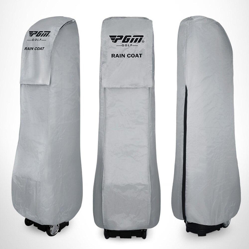 Waterproof Golf Bag Cover Elastic Hem Protective Storage Organizer Case