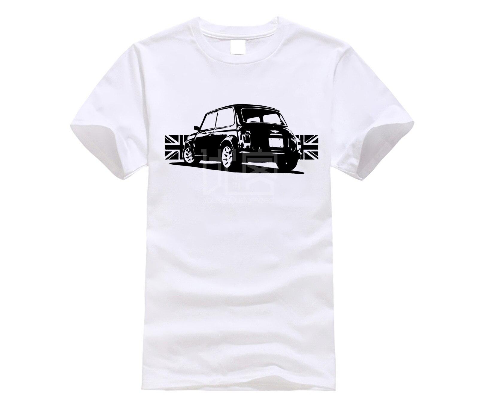 T-Shirt dla fanów mini cooper classic bmc austin brytyjski samochód S-5XL 6 kolorów