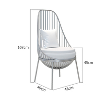 Customizable Coffee Chairs Luxury Commercial Furniture Soft Dining Backrest Chairs For Kitchen Hotel Chair Pink Sillas Modernas
