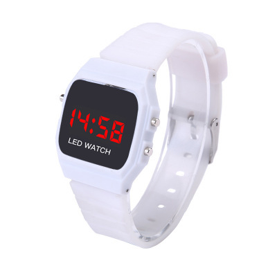 Casual Student Sports Watch Led Electronic Digital Children's Watch Kids Hour Silicone Strap Boy Girl Wrist Watches Relogio C076