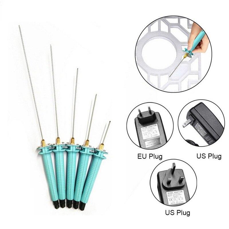 Электрический пенопластовый резак, пенопластовый нож, ручка для резки горячим проводом, портативный пенопластовый режущий инструмент, пен...