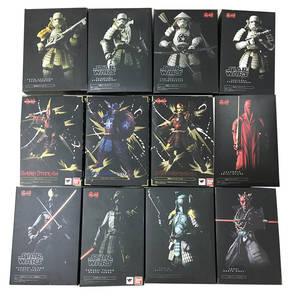 Toy Action-Figures Vader Darth Maul Boba Ashigaru Taisho Teppo Taikoyaku