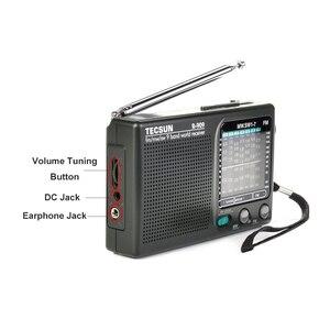 Image 5 - TECSUN R 909 Fm/Mw/Sw 9เครื่องรับสัญญาณวิทยุแบบพกพาวิทยุFmเสาอากาศวิทยุ
