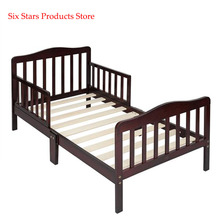 Crib Wooden Baby Toddler Bed Children Bedroom Furniture with