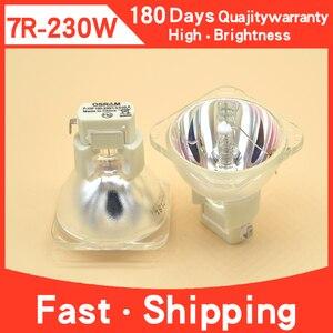 Image 1 - Vendite Calde di trasporto libero 1PCS P VIP 180 230W E20.6 7R lampade Ad Alogenuri Metallici Lampada in movimento del fascio lampada 230 fascio di 230 Made In China