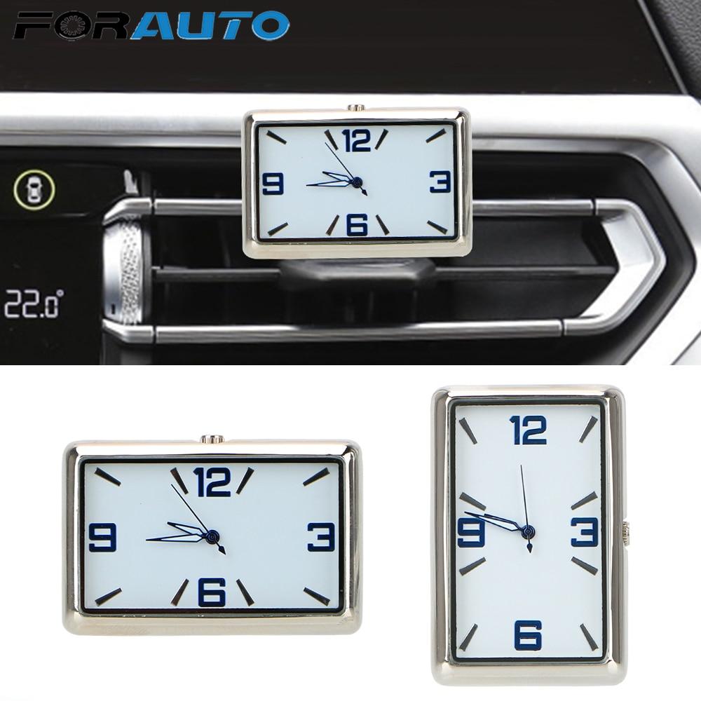 Auto Fashion Watch Double-sided Sticker Car Clock High Quality Stick-On Auto Watch Car Decoration Automobiles Quartz Watch