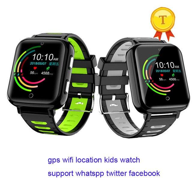 عالية الجودة whatsapp تويتر مكالمة فيديو متعددة اللغات smartwatch كاميرا أطفال 4G لتحديد المواقع ساعة ذكية بطاقة SIM الاطفال 4g lte ساعة طفل