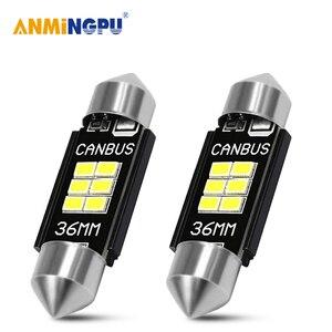 ANMINGPU 2x сигнальная лампа C10W C5W, Led Canbus 31 мм 36 мм 39 мм 41 мм, гирлянда, светодиодные лампы для номерного знака, светильник, лампа для чтения, s 12V