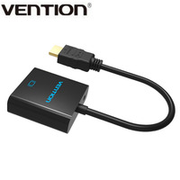 Vention V04 17cm Series HDMI To VGA Adapter Converter Cable Micro USB Power 3.5mm Audio Interface For XBOX HDTV PC Laptop