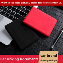 цена на Car Driving Documents Auto Driver License Credit Card Bag Case Cover Holder For Jaguar logo XE XJ XJL XF C-X16 V12 Guitar F X