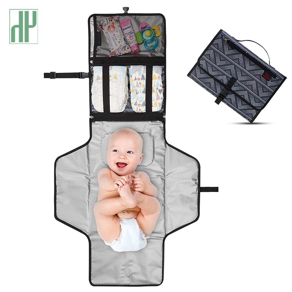 2019 Diaper Pad Newborns Foldable Waterproof Baby Diaper Changing Mat Portable Changing Pad 10.5 X 2 X 7.5 Inches Children