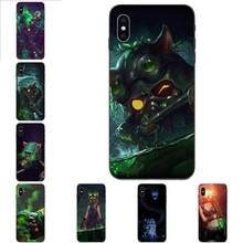 Lol omega squad teemo para apple iphone 4 4S 5 5S se 6 s 7 8 11 plus x xs max xr pro max macio padrão telefone(China)