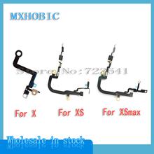 10 sztuk partia małe sygnał Bluetooth Flex Cable dla iPhone X XS Max XR wymiana naprawa części tanie tanio MXHOBIC For X XS XSmax XR Antena Signal Apple iphone