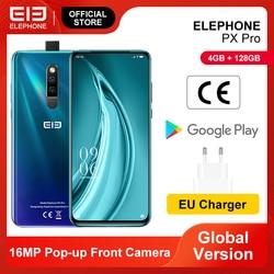 PX Pro смартфон 4 Гб 128 ГБ Helio P70 Восьмиядерный 6,53 ''FHD + экран 48 Мп задняя камера 16 МП Выдвижная фронтальная камера Беспроводная зарядка NFC