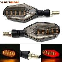2 cores opcionais led turn signal lâmpada de giro para suzuki rm85 rm125 rm250 rmz250 rmz450 motocicleta luz indicadora de sinal