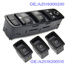 Conjunto de energia interruptor de controle de janela elétrica apto para mercedes-benz w164 gl320 gl350 gl450 a2518300290 a2518200510