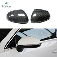 2009 2020 Passat CC Scirocco Real Carbon Mirror Cover For Volkswagen Beetles Bora RearView Mirror Cover Replacement