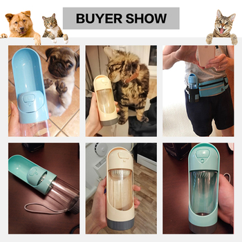 Portable Pet Dog Water Bottle Drinking Bowls   6