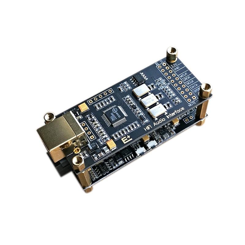 Sa92орошенная Плата декодера SA9227 + ES9038Q2M hifi fever USB аудио карта конвертер комплект DSD128 32 бит 384 кГц