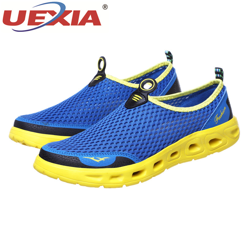 UEXIA Big Plus Size Shoes Unisex Summer Sneakers Light Breathable Casual Shoes Couple Fashion Comfortable Mens UEXIA Big Plus Size Shoes Unisex Summer Sneakers Light Breathable Casual Shoes Couple Fashion Comfortable Mens Mesh Flats Shoe