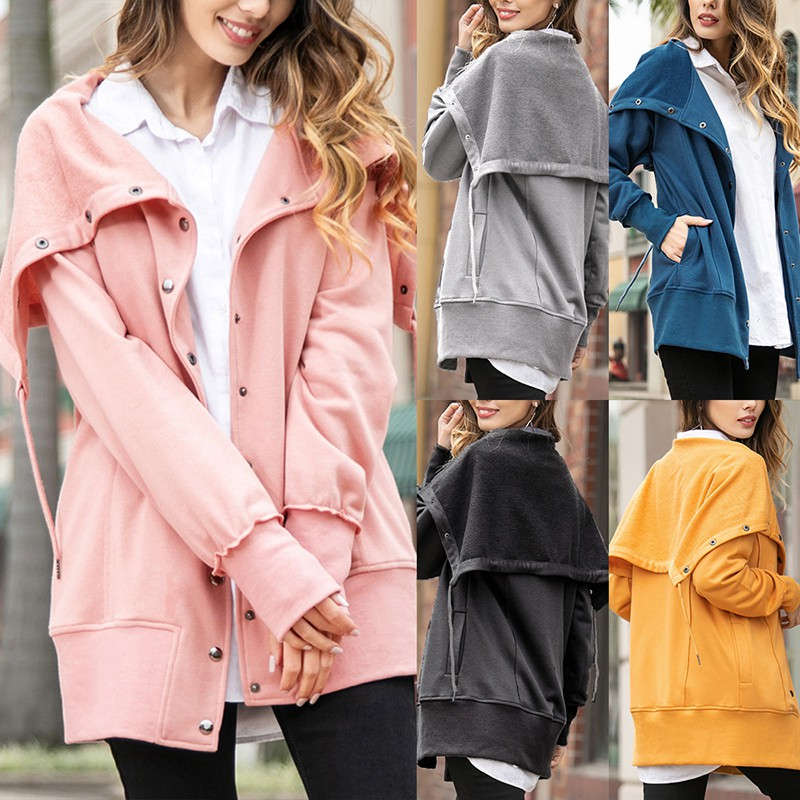 Women Jacket with Hoodie