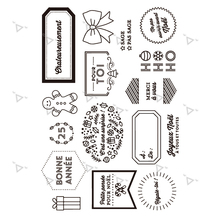 French 2020 Transparent Clear Rubber Stamp Sheet Cling Scrapbooking Photo Album PaperCard DIY Craft Diary