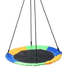 Popular Fashion 100 CM 900D Oxford Cloth Round Outdoor Rope Tree Swing Kids Easy To Carry Outside Toys Swings